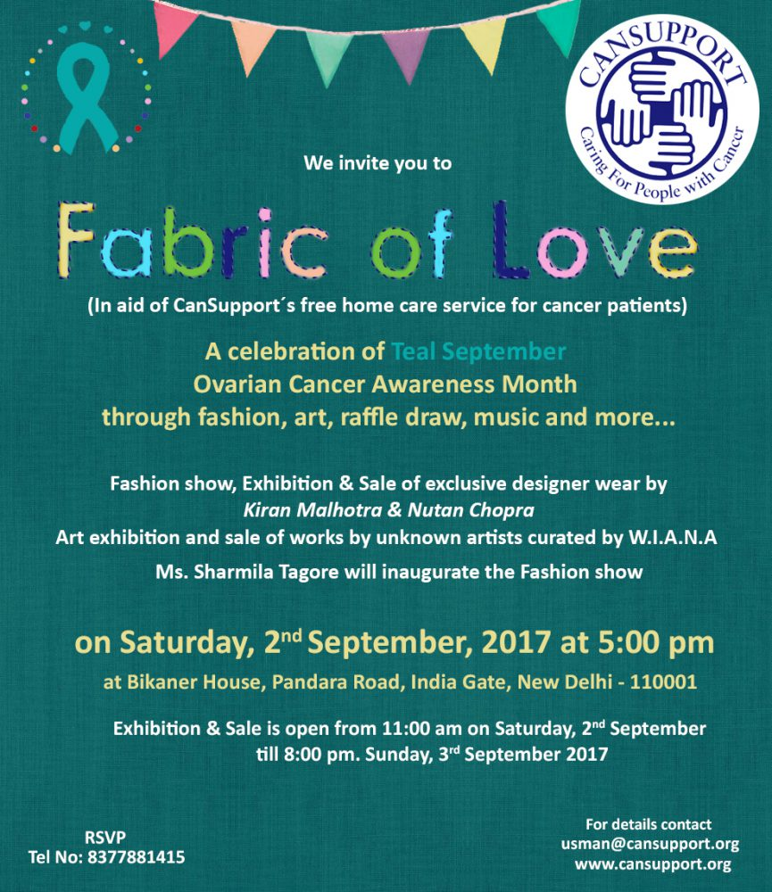 Fabric of Love - Teal September