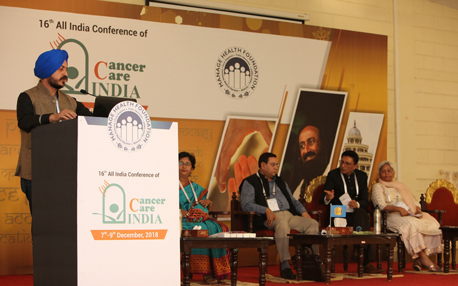 CanSupport at 16th All India Conference & GBM of Cancer Care
